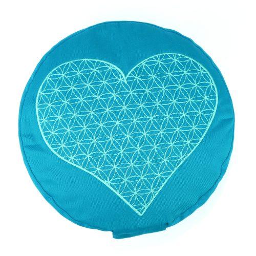 Yogakissen | Meditationskissen | Yoga Kissen | Kissen für Meditation | Meditationskissen bestickt