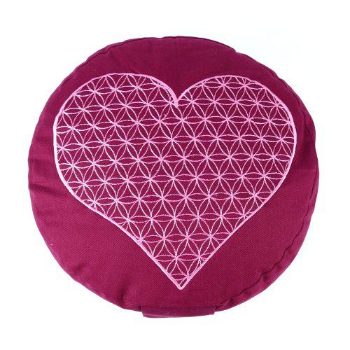 Yogakissen | Meditationskissen | Meditationskissen bestickt | YOGA STILVOLL | Yoga Kissen