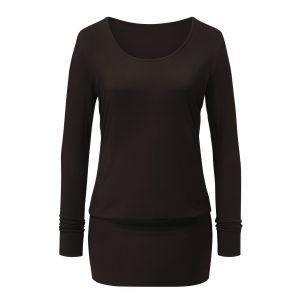 Dress Shirt von Curare – chocolade