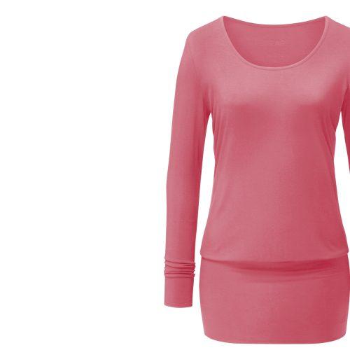 Yoga Shirt | Dressshirt von Curare-coral rose
