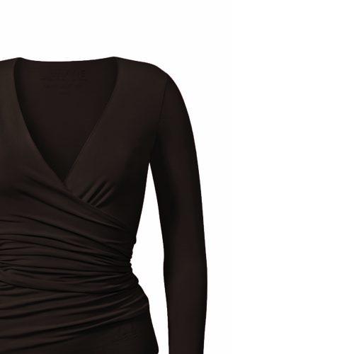 Yoga Shirt | Warp Jacket von Curare-chocolade