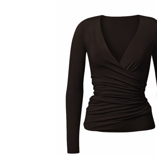 Yoga Shirt | Warp Jacket von Curare-chocolade