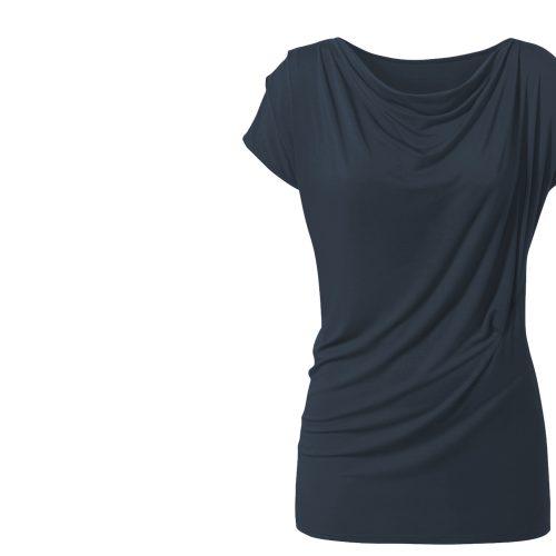 Yoga Shirt Wasserfall von Curare-ocean blue