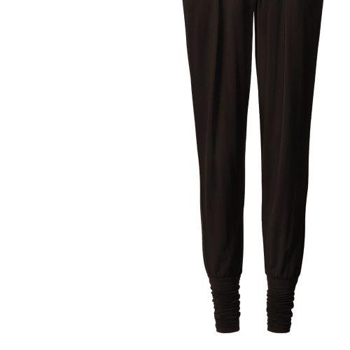 Yogahose Wide Pants, cuffs von Curare-chocolade