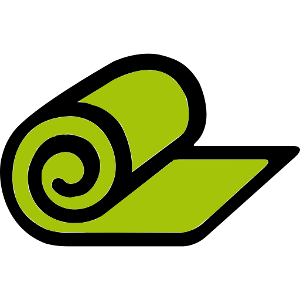 Icon Material von Yogamatte