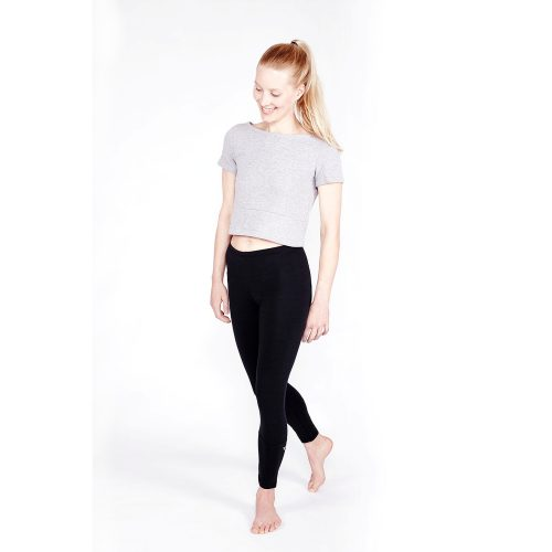 Yoga Leggings 7/8 von Yoiqi - Soft Black Bio