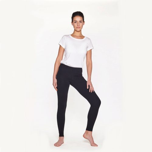 Yoga Leggings Plain von Yoiqi - Soft Black Bio