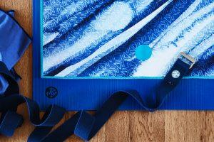 Mattenauflagen und Mattentücher für Yogamatten