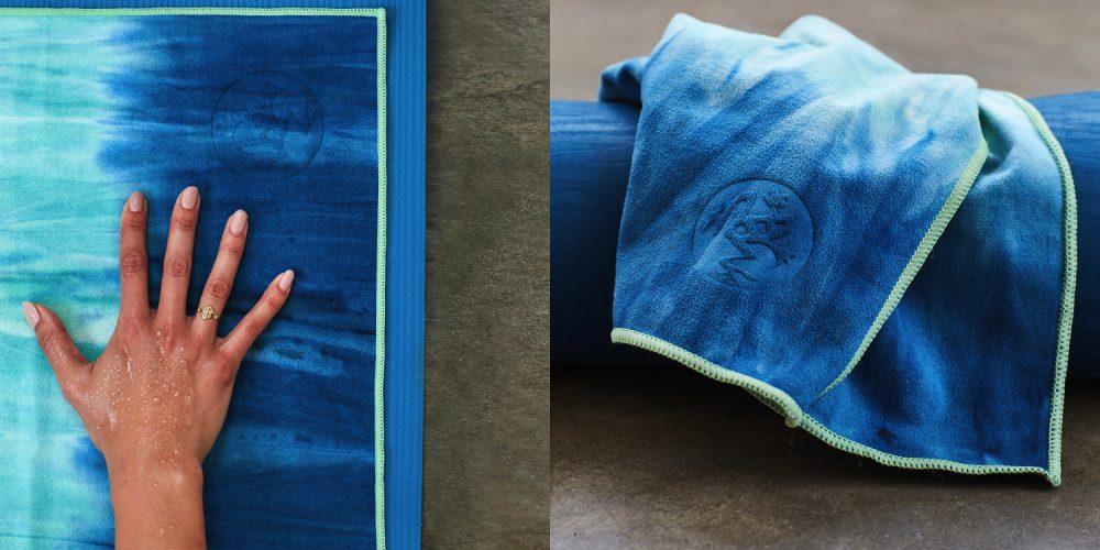 Praktische Yoga Handtücher für Schweißtreibende Yoga Übungen