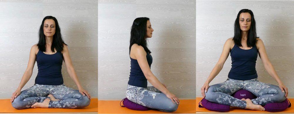 50 Tipps zum Meditieren - Yoga Zubehör-Halbmondkissen