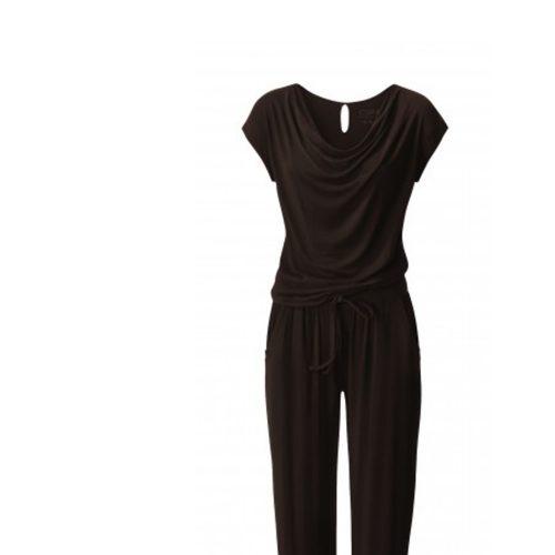 Jumpsuit von Curare chocolade | Yogabekleidung | Yoga Kleidung Damen | Yoga Jumpsuit