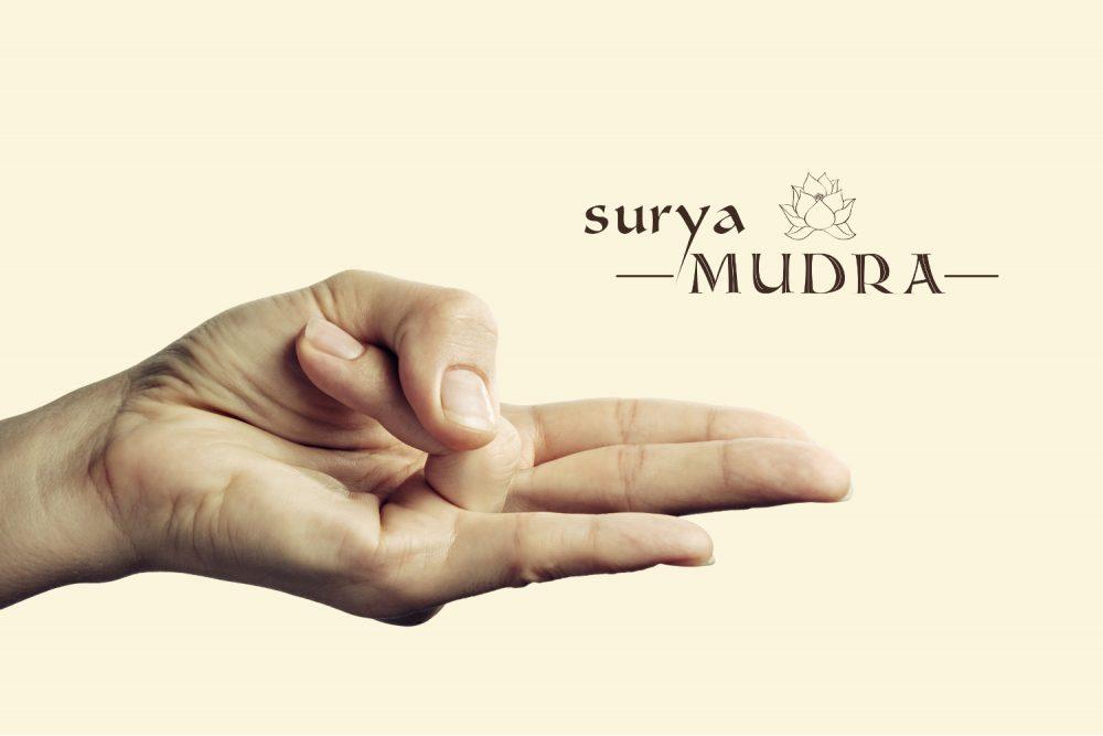 Surya-Mudra, auch Sonnenmudra genannt