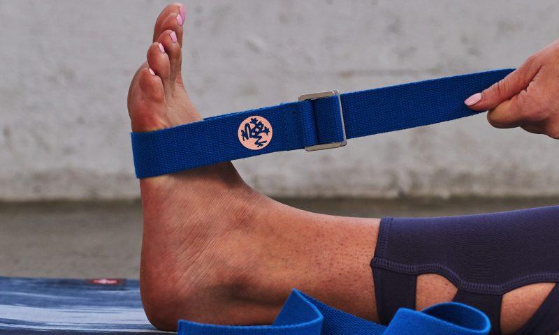 Yogagurte Hilfsmittel für die Dehnung bei Yoga Übungen