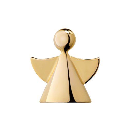 Schutzengel Anhänger Engel der Liebe 925 Silber vergoldet Yoga Stilvoll