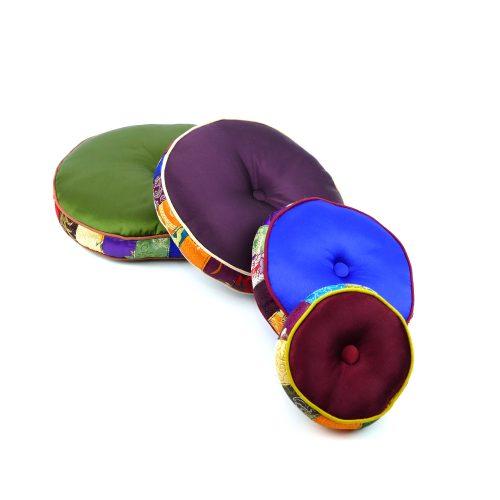 Klangschalenkissen Rund mit Kapok