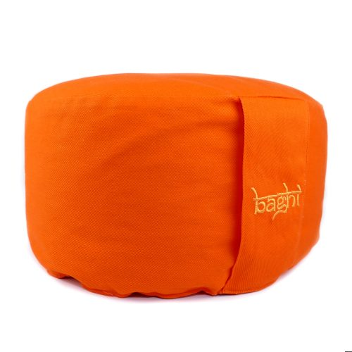 Meditationskissen - Basic von Bagahi Orange