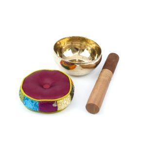 Tibetische Klangschale glänzend zwischen 300g-350g