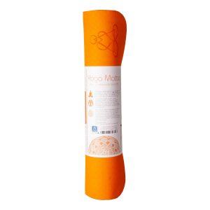 Yogamatte Berk – Blume des Lebens – Orange