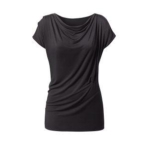 Yoga Shirt – Wasserfall von Curare – black