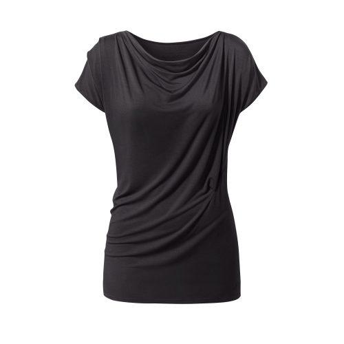 Yoga Shirt – Wasserfall von Curare black