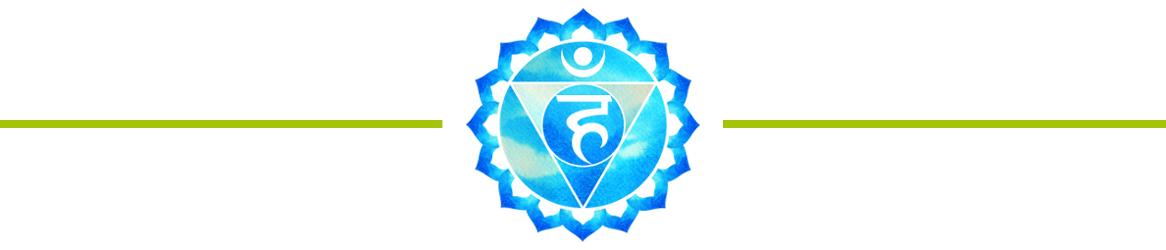 Halschakra Symbol