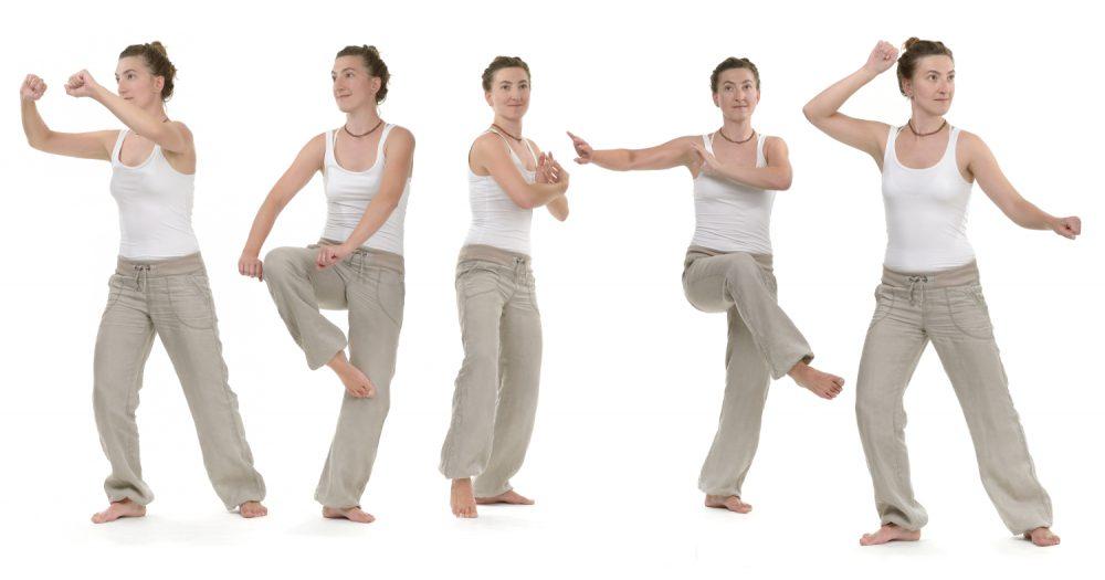 Qi Gong – fließende, präzise Bewegungen, Harmonisierung des Qi