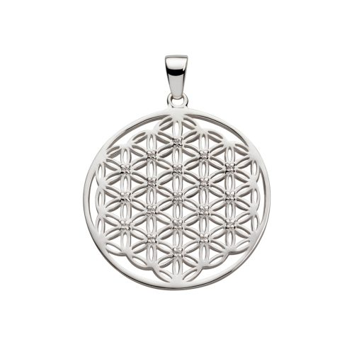Silber Anhänger - Blume des Lebens Anhänger - 925er Sterling Silber