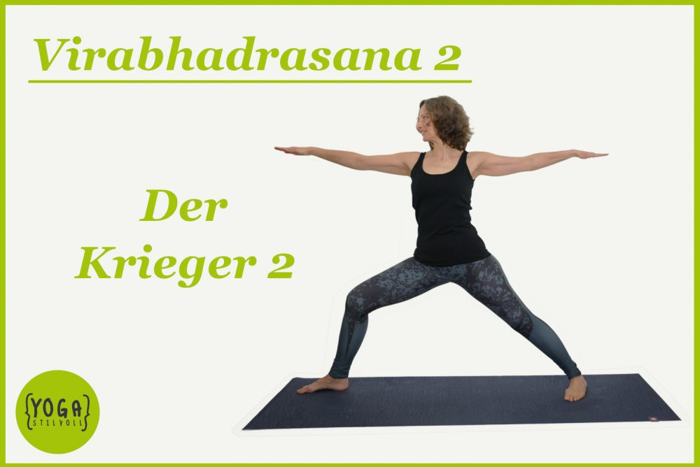 Virabhadrasana 2 - yoga krieger 2