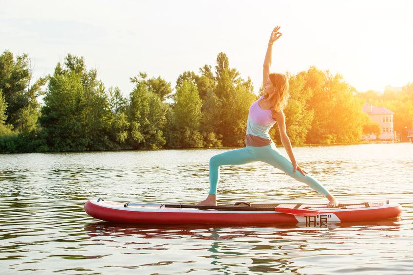 Wirkungen von Stand-Up Paddle Yoga