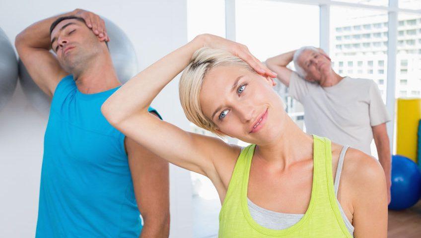 Übungen Schulter Nacken