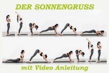 Der Sonnengruß Yoga mit Anleitung