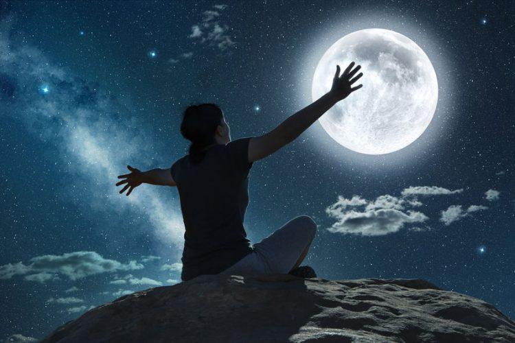 Mondgruß – der perfekte Abschluss für einen stressigen Tag