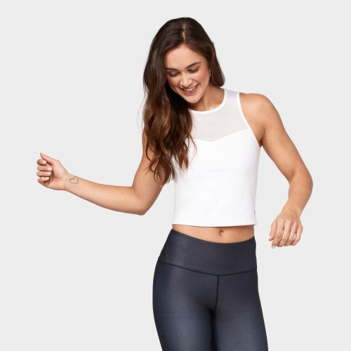 Solite Crop Top von Manduka - White