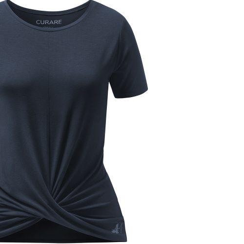 Twisted Shirt von Curare midnight blue
