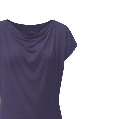 Wasserfall Shirt von Curare indigo blue