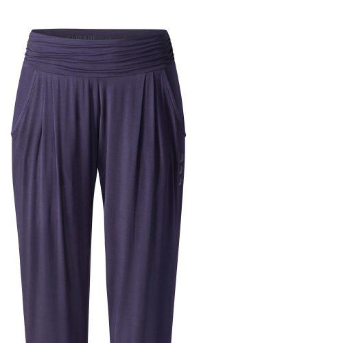 Yoga Hose Long Loose Pants von Curare indigo blue