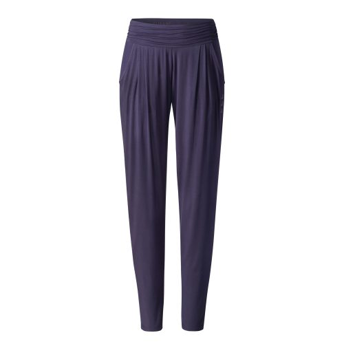 Yoga Hose Long Loose Pants von Curare indigo blue