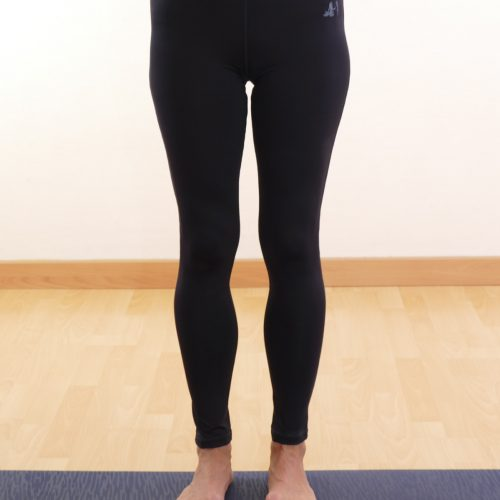 leggings high waist von curare midnight blue