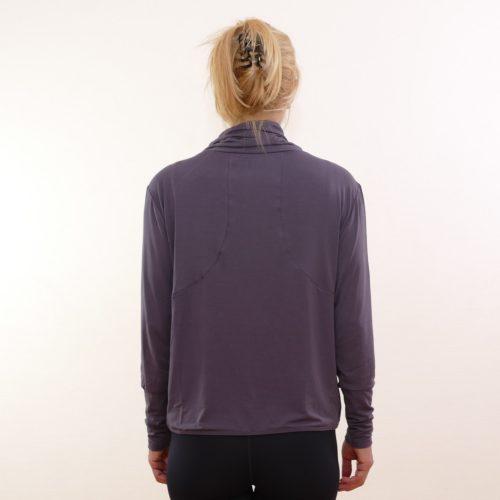 shirt turtle neck von curare aubergine