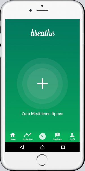 Breath geführte Meditations-App
