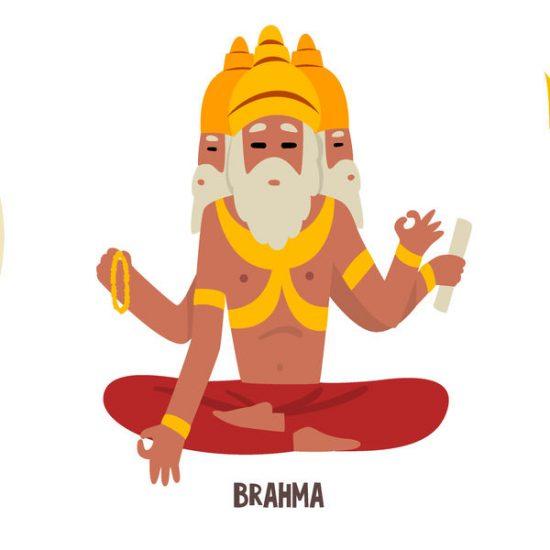 Brahma Gott des Hinduismus