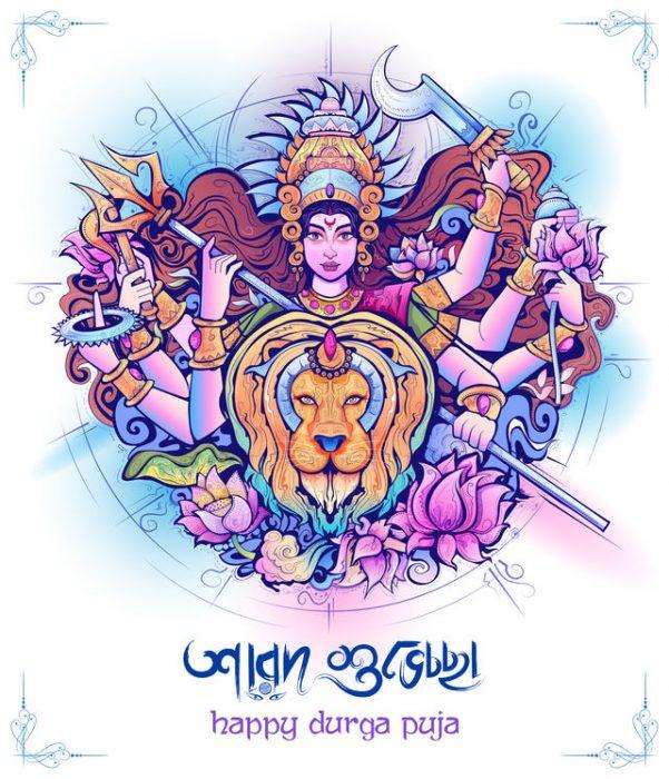 Durga Göttin in Hinduismus