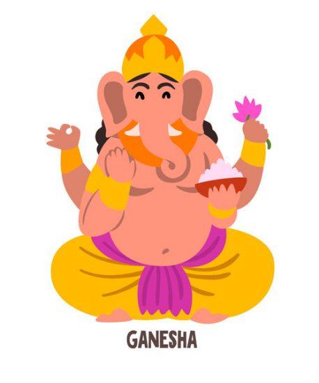 Ganesha Gott des Hinduismus.