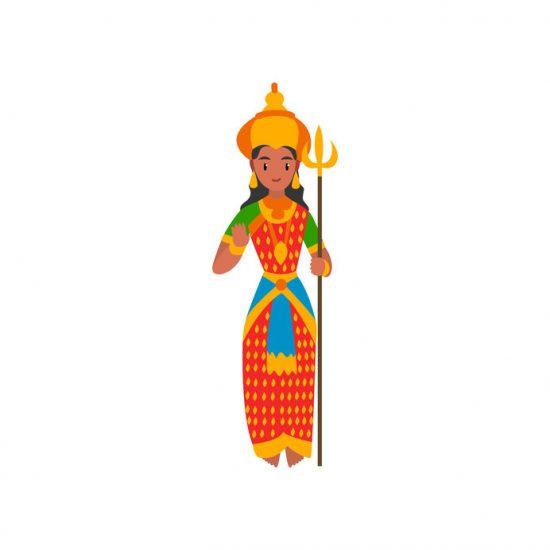 Parvati Göttin des Hinduismus