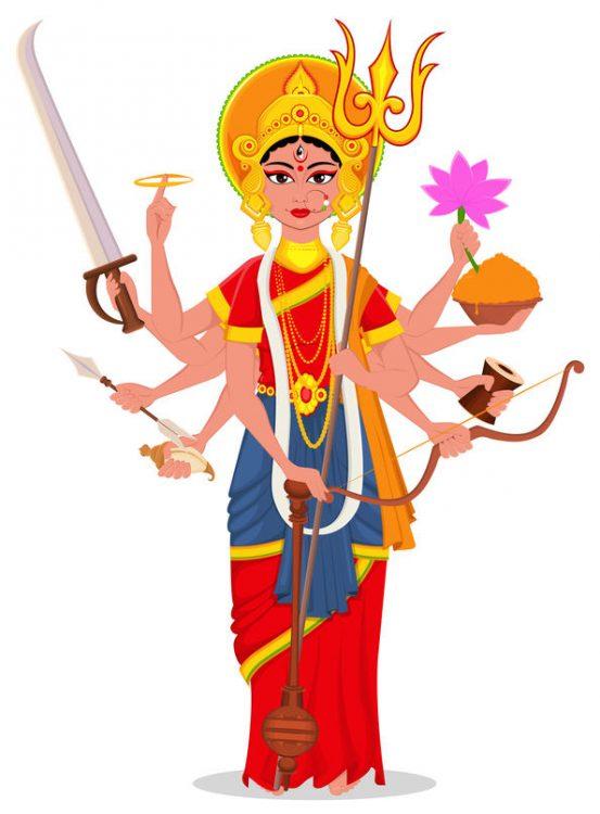 Shakti Gott des Hinduismus