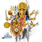 Durga Muttergöttin und Kriegerin