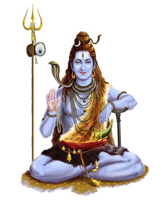 In welcher Form erscheint Shiva