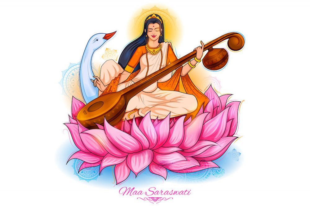Saraswati – Die Göttin der Kunst, Musik und Weisheit