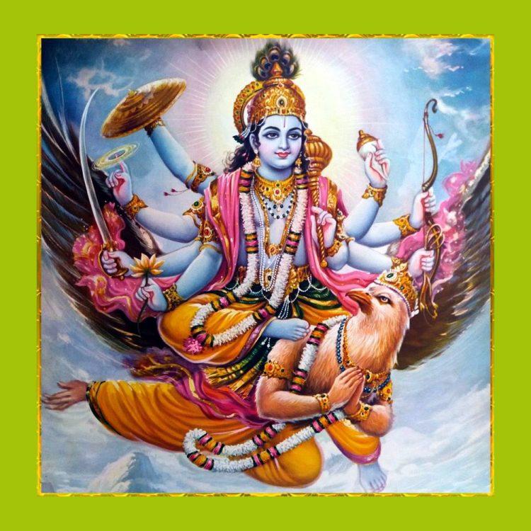 Wie kann man Vishnu erkennen