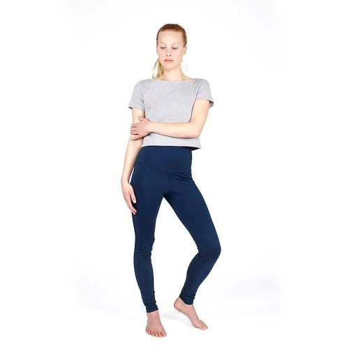 High Yoga Leggings von Yoiqi - DEEP BLUE